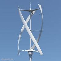 VIRTICAL AXIS WIND TURBINE. (VAWT)