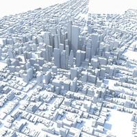 Huge City Untextured