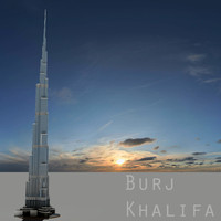 burj khalifa tower dubai 3ds