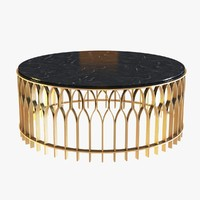 Brabbu Mecca Round Coffee Table
