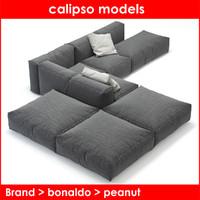 max peanut b bonaldo sofa