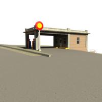maya gas station