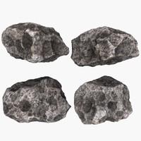 3d asteroid mht-01 model