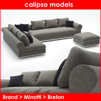 3d category breton sofa minotti model