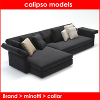 category minotti collar 3d obj