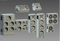 3d loudspeakers column speakers model