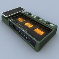 3d zoom g3x guitar processor model