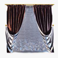 curtains 10 3d 3ds