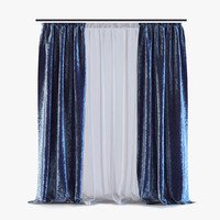 3d model curtains 03