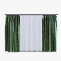 3d model curtains 04