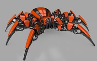 robot spider 3ds