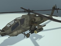3ds max helicopter apache