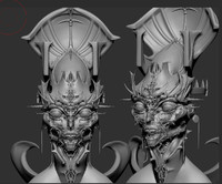 free 3ds model sculpt zbrush
