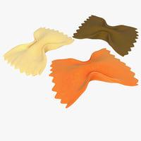pasta 3D models