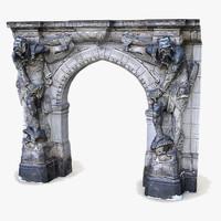 GateKeeper Knight Dresden Arch Doorway