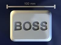 boss mold hand 3d model