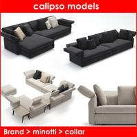 3d model category minotti collar