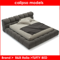 3d model b italia tufty bed