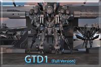 3d gtd1 model
