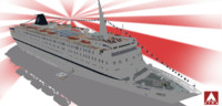 cruises msc melody 3d 3ds