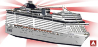 3d model msc fantasia cruises