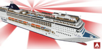 msc cruises opera 3d 3ds
