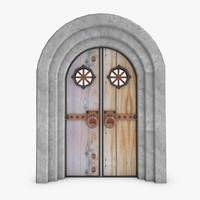 door fantasy 3d 3ds