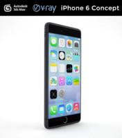 3dsmax concept iphone 6