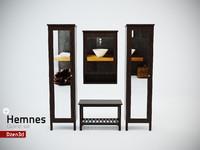 Hemnes Cabinet Set