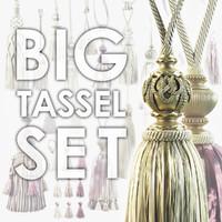 classic tassels 3d model