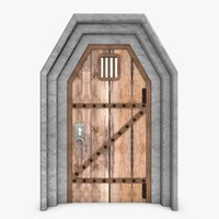 door fantasy 3d model