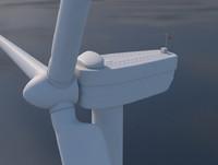wind turbine c4d