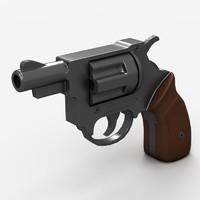 gun pistol 3d model
