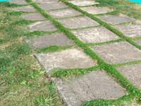 3d model tiles walking path