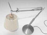 3dsmax desk lamp
