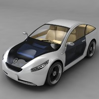 3ds max future car