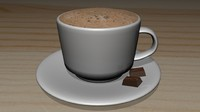 maya hot chocolate cup coffee
