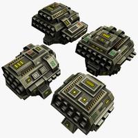 4 Missle Launchers