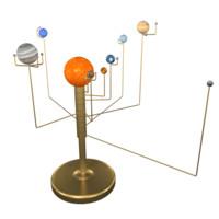 desk solar 3d model