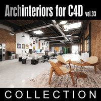 Archinteriors for C4D vol. 33