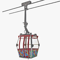 cable way 3D models