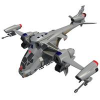 spaceship space 3d max