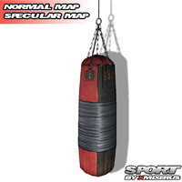 3d model boxing punching bag