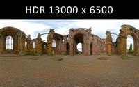 Melrose Abbey 360 degree HDR