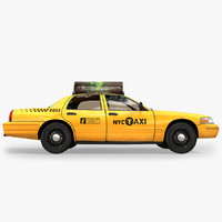 3ds max new york taxi 1