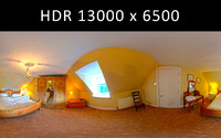 Bedroom 360 degree HDR