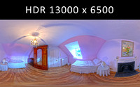 Bedroom 2 360 degree HDR