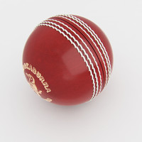 cricket ball 3d model