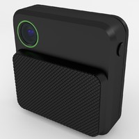 wearable body camera 3d max