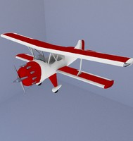 3dsmax plane biplane